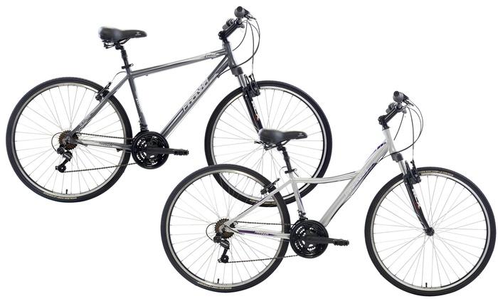 Piranha 21-Speed City Bikes for Men and Women