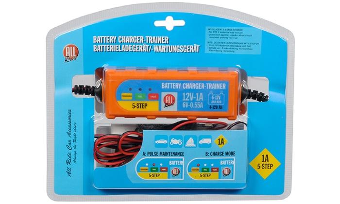 Caricabatterie per auto o moto