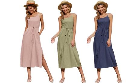 1 o 2 vestidos de verano largo para mujeres
