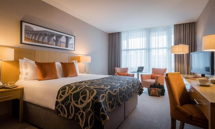 groupon.co.uk - Belfast: Deluxe Room for Two with Breakfast and Option for Two-Course Dinner at Clayton Hotel Belfast