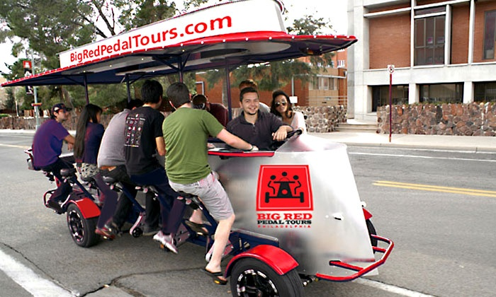 Big Red Pedal Tour Groupon
