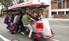 Big Red Pedal Tours - Center City East: Historical Pedicycle Tour for Four or Up to 15 from Big Red Pedal Tours (50% Off)