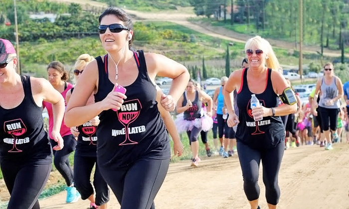 The Ultimate Wine Run - Waterfront: $35 for Ultimate Wine Run 5k Registration for One ($80 Value)