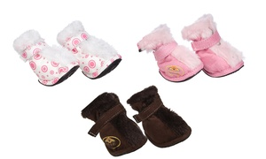 Premium Fashion Supportive Dog Boots for Small Breeds