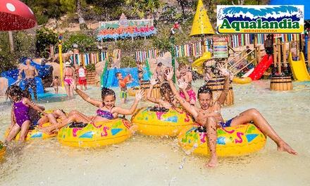 Entrada al parque acuático Aqualandia para adultos y/o niños desde 26€