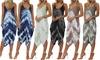 Women's Tie-Dye Harem Jumpsuit