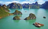 Vietnam: circuit 7jours6nuits AR en pension complète avec extension possible de 6jours5nuits à la plage pour 2 pers