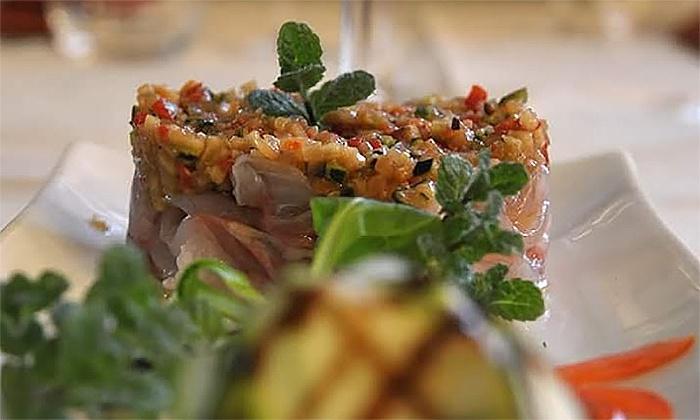 OSTERIA ROSSO DI SERA - Bernareggio: Osteria Rosso di Sera - Menu creativo di pesce di 7 portate e bottiglia di Prosecco DOC Millesimato (sconto fino a 71%)