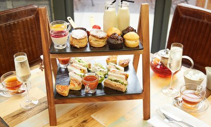 image for Afternoon Tea for Two or Four with Optional Prosecco at Convive (Up to 37% Off)