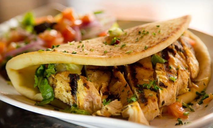 My Big Fat Greek Restaurant - Chandler: Greek Cuisine for Two or Four or More at My Big Fat Greek Restaurant (Half Off)