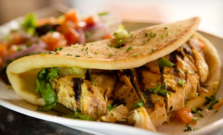 Greek Cuisine for Two or Four or More at My Big Fat Greek Restaurant (Half Off)