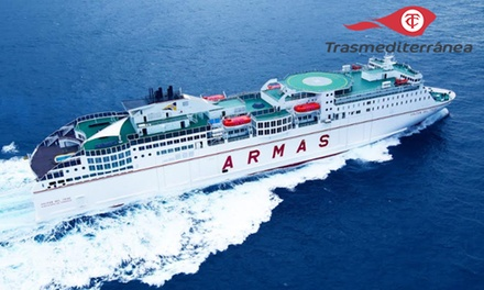 Bono de hasta 120 € de descuento en ferry Palma - Ibiza para hasta 4 personas con Trasmediterránea