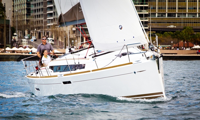 Chicago Yacht Share - Lakeview/Lincoln Park: Navy Pier Fireworks Charter or Sailing Class at Chicago Yacht Share (Up to 52% Off). Three Options Available.