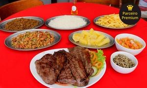 Peixinho Bar e Restaurante: Carne de sol + acompanhamentos para até 4 pessoas no Peixinho Bar e Restaurante – St. Marista