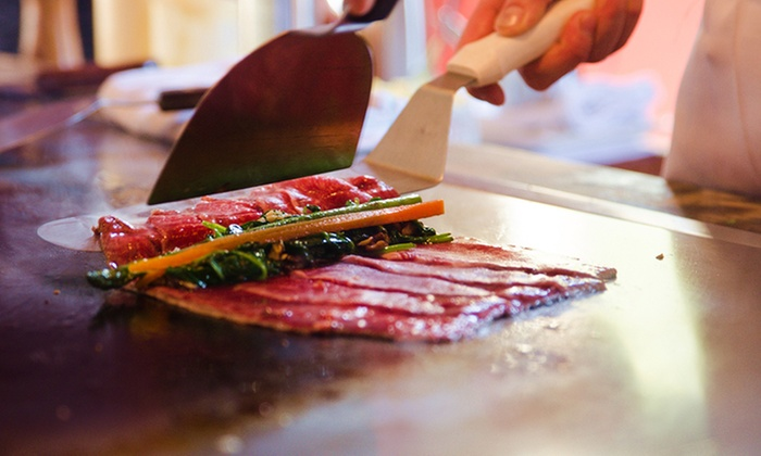 Riverside teppanyaki by kobe jones in melbourne vic groupon - Cuisiner au teppanyaki ...