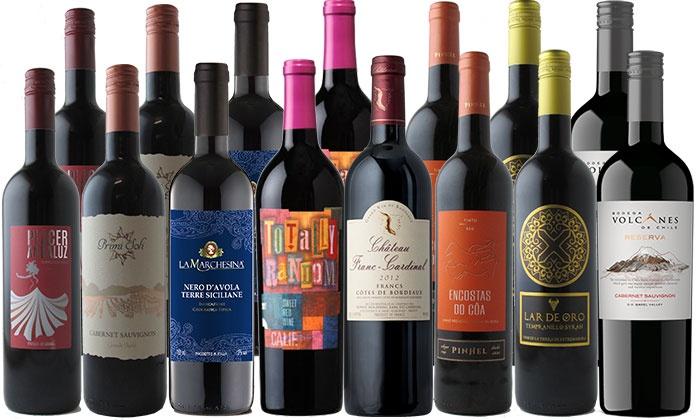 15 spring red wine bottles splash wines groupon