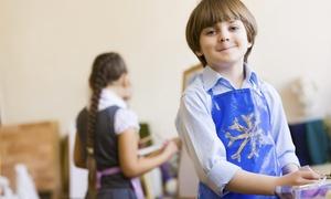 Splash On Literacy: One Canvas Painting Class for Kids at Splash on Literacy Art Studio (37%