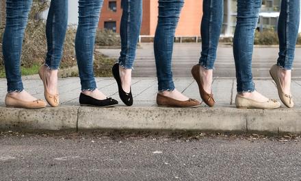 Redfoot Damen-Ballerinas aus Rauleder in der Farbe und Größe nach Wahl : 25,99 €