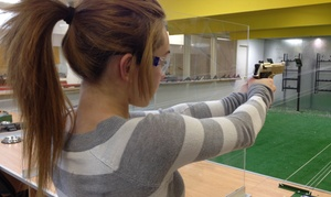 Tir Du Soleil: 60-Minute Air Gun Shooting Package for One, Two or Four at Tir du Soleil (Up to 57% Off)