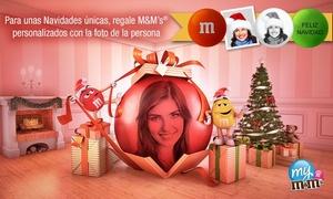 My M&M's: My M&M's: paga 3,50 € por un descuento de 15 € en la compra de chocolates M&M's personalizados