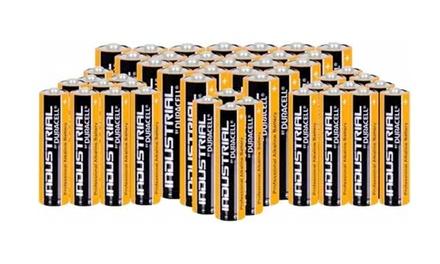 72 piles alcalines industrielles Duracell, en AA ou AAA ou les deux