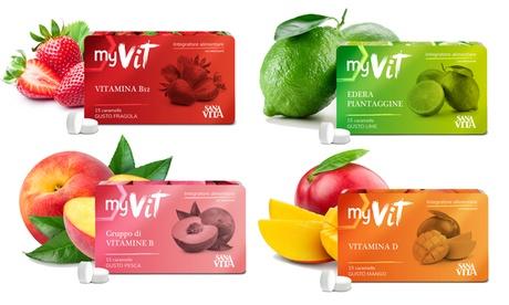 6 o 12 confezioni di integratori Sanavita MyVit Paladin Pharma