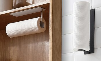 Adhesive Paper Roll Holder Rack