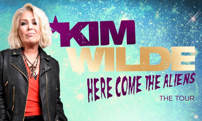 Live Nation HQ - Multiple Locations: Kim Wilde: Here Come The Aliens Tour, 30 March - 30 April, Multiple Locations (Up to 12% Off)