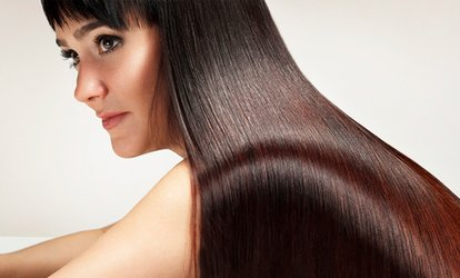 image for Brazilian Blow-Dry with Optional Wash, Cut and Finish at The Salon