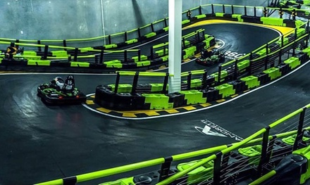 Fun and Games Package for One, Two, or Four People at Andretti Indoor Karting and Games (Up to 45% Off)