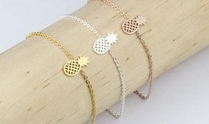 Bracelet Plume ou Ananas