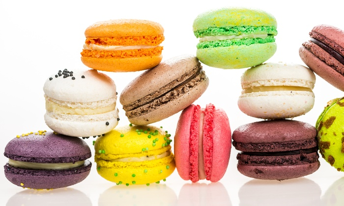 The Sconery - Multiple Locations: One or Two Dozen French Macarons or Pastry Scones at The Sconery (Up to 44% Off)