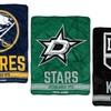 "NHL 46""x60"" Microfiber Raschel Throw (Select Teams)"
