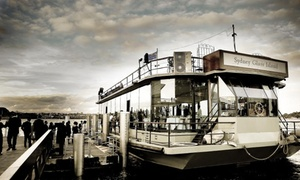 Sydney Glass Island: Harbour Wedding Cruise Package from 50 Guests ($7,500) (+ Wharf Fees) with Sydney Glass Island (Up to $11,750 Value)