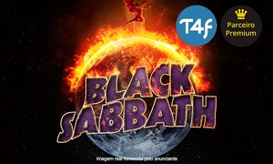 Time 4 Fun: Black Sabbath – FIERGS: 1 ingresso Pista ou Pista Premium para a turnê The End