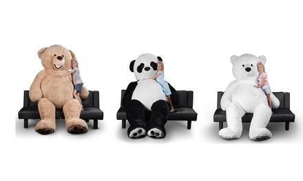 Giant 8ft Teddy Bear Panda Bear Or Polar Bear Groupon