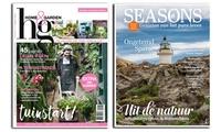 Moederdag: 5 of 10 nummers van magazines Seasons of Home&Garden