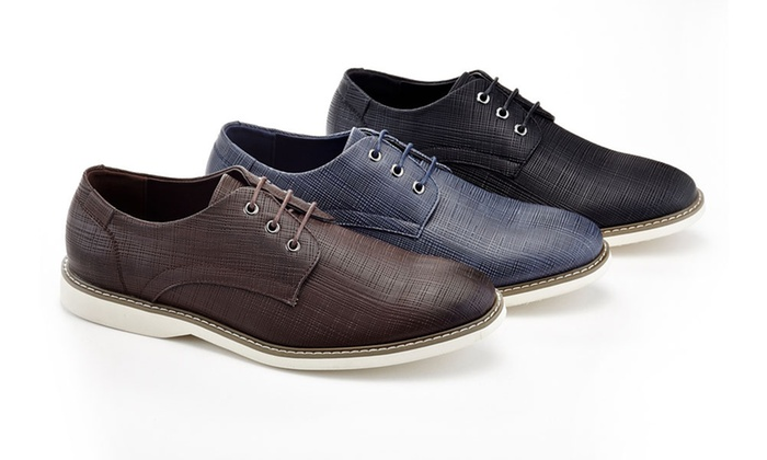 234ed214bac31 Up To 50% Off on Men's Texture Casual Oxfords | Groupon Goods