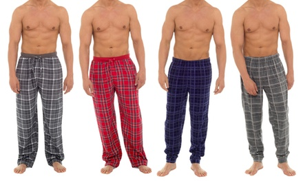 Men's Checked Lounge Bottoms