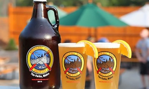 Kennebec River Pub and Brewery: Beer Tasting and Pint Glasses for Two, Four, or Six at Kennebec River Pub and Brewery (Up to 49% Off)