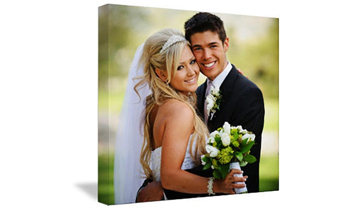 """Images On Canvas: One or Two 16""""x20"""" or 20""""x24"""" Custom Canvas Photo Prints from Images On Canvas (Up to 80% Off)"""