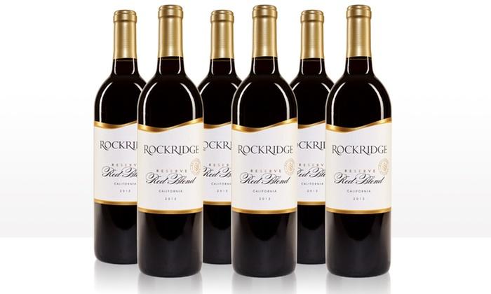 image placeholder image for Rockridge Reserve 2015 California Red Blend  Wine Sampler (6-Pack)