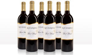Rockridge Reserve 2015 California Red Blend Wine Sampler (6-Pack)