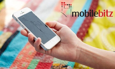 iPhone Screen or Battery Replacement at Mobilebitz, Multiple Locations