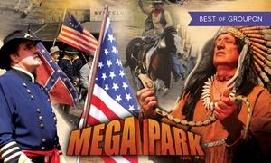Mega Park Kansas City: Od 54,99 zł: bilety wstępu do Mega Parku Kansas City – Kraina dinozaurów, zoo, Dziki Zachód i inne atrakcje (do -38%)