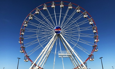 St Kilda SkyLine Ferris Wheel Ticket for One Person ($5) or Up to Six People ($15) from SkyLine Australia (Up to $30)