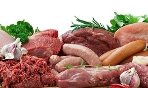Boucherie Crépin: Un panier de 5 kg de viandes à récupérer sur le marché à l'étal de la boucherie Crépin à 49,90 € au lieu de 85,60