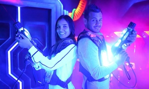 laser-city: לייזר סיטי במתחם וואן דיזיין: 2 קרבות לייזר עם אקדחים, אפודים ואווירה מחשמלת, ב-70 ₪ בלבד