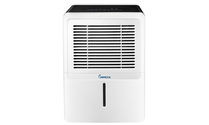 Impecca Portable Dehumidifier with Automatic Drain Pump