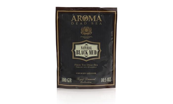 Aroma Dead Sea Natural Black Mud